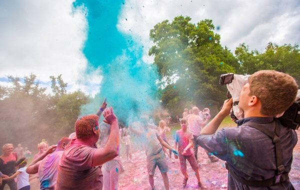 Away Resorts Colour Festival